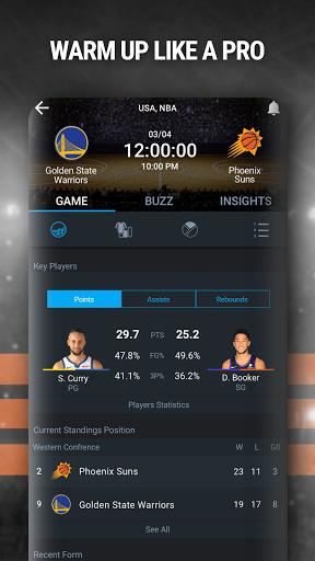 365Scores: Live Scores & Sports News  screenshots 4