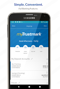 myTrustmark® Mobile  Apps For Pc (Windows 7, 8, 10, Mac) – Free Download 1