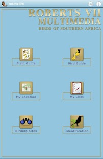 Roberts Multimedia Birds of SA Screenshot