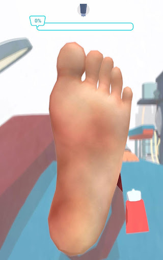 Foot Clinic - ASMR Feet Care 1.4.1 screenshots 4