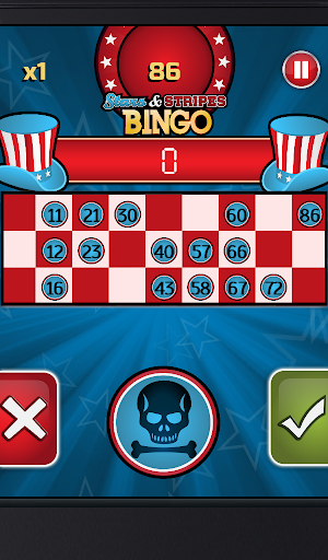 Stars and Stripes Bingo: FREE For PC Windows (7, 8, 10, 10X) & Mac Computer Image Number- 13