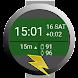 山旅ロガー時計盤 - Androidアプリ