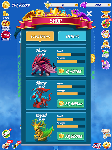 Dragons Evolution - Best Merge Idler 2.1.15 screenshots 14