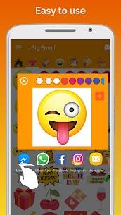 Big Emoji Mod Apk- large emoji for all chat messengers (Premium Feature Unlock) 7.0.0 3