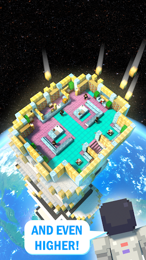 Tower Craft 3D - Idle Block Building Game  screenshots 4