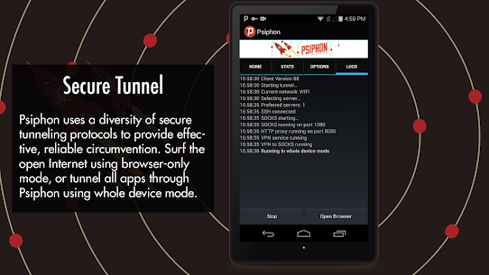 Psiphon Pro APK (MOD, Subscribed) for Android 5