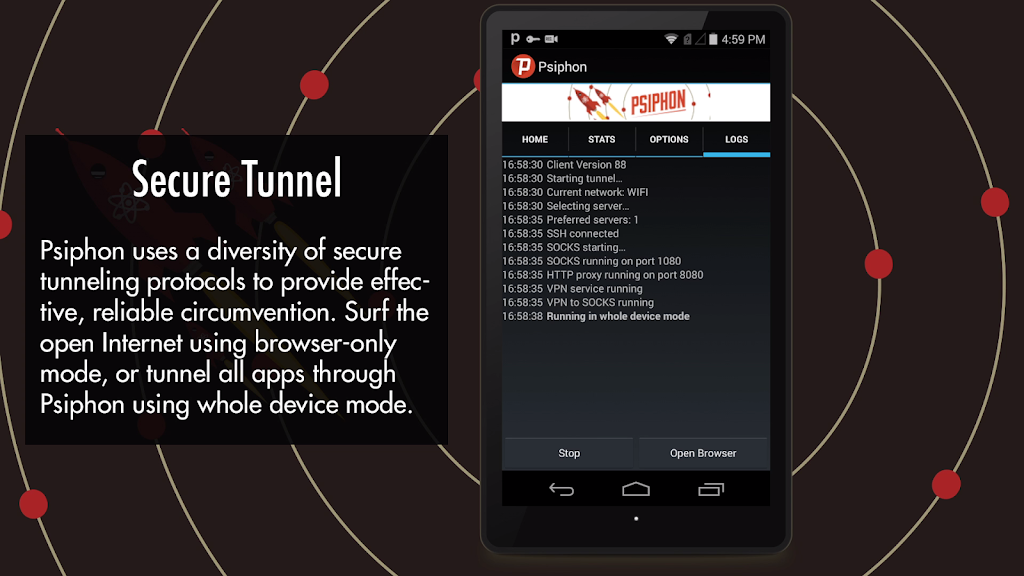 Psiphon Pro - The Internet Freedom VPN  poster 4