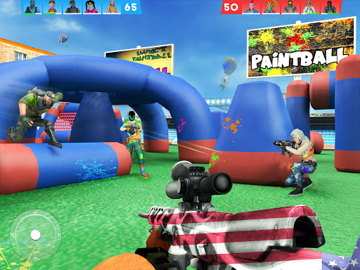 Paintball Shooting Games 3D apkpoly screenshots 6