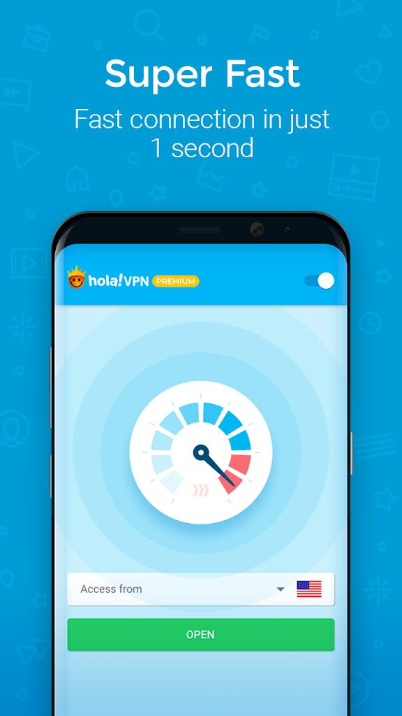 Hola VPN Proxy Plus para Android - Apk Descargar