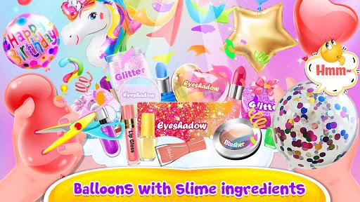 Bubble Balloon Makeup Slime  - Slime Simulator  screenshots 2