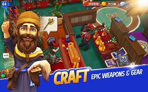 Shop Titans: Epic Idle Crafter Mod Apk 7.2.1 (Unlimited Money) 13