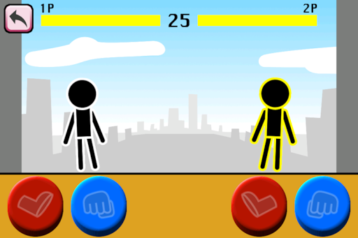 Fighting games Mokken: stick man battle modavailable screenshots 14
