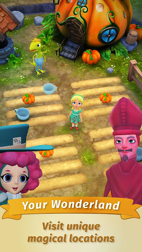 Alice: Fantasy world in the Wonderland! modiapk screenshots 1