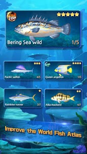 Real Fishing – Ace Fishing Hook game MOD APK 1.1.1 (Unlimited Hook) 4
