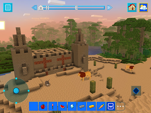 Terracraft Survival: Mine Blocks, Build and Craft 1.2.1 screenshots 4