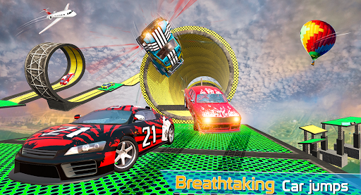 Mega Ramps 3D - Stunt Car Racing | Stunt Driving screenshots 7