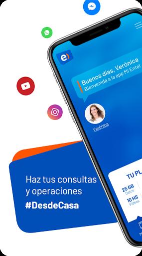 Mi Entel Peru00fa - Activa y controla tu lu00ednea 9.9 Screenshots 1