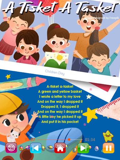 Kids Songs - Offline Nursery Rhymes & Baby Songs  screenshots 3