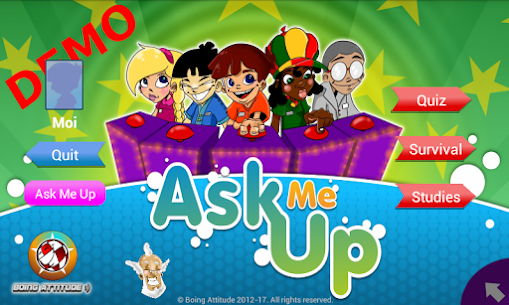 AskMeUp Demo Quiz 3.5.3.0 Mod APK (Unlock All) 1