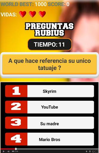 el rubius quiz screenshot 2