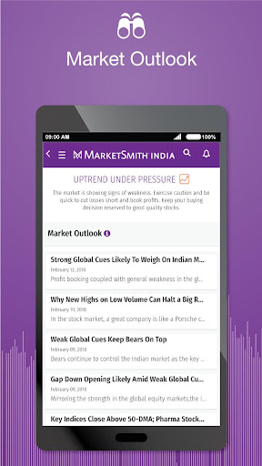 MarketSmith India - Stock Research & Analysis android2mod screenshots 7