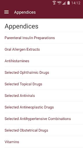 Nurse's Drug Handbook 3.0.1.523 Screenshots 2