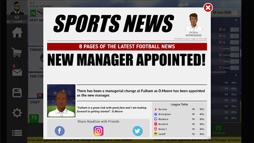 Club Soccer Director 2021 - Soccer Club Manager 1.5.4 Screenshots 17