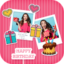 Birthday - Photo Frame, Collage, Greeting, Status