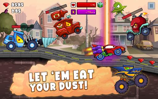 Car Eats Car 2 - Racing Game apktram screenshots 9
