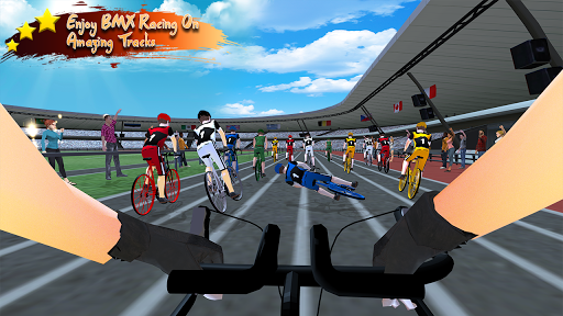 Real Bicycle Racing : BMX  Bicycle game 2021 apkslow screenshots 4