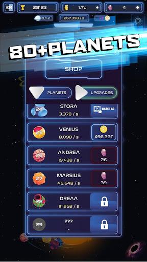 Space Merge: Galactic Idle Game screenshots 4