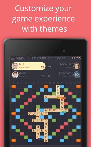 Rackword - Free real-time multiplayer word game screenshots 21