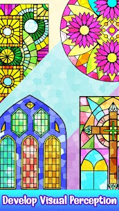 Stained Glass Color by Number – Adult Paint Book 1.7 APK Mod Android [Latest] 2