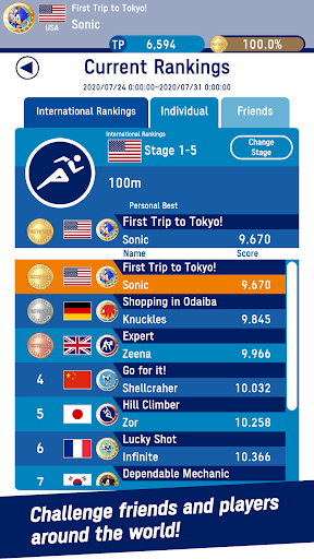 Sonic at the Olympic Games u2013 Tokyo 2020u2122 1.0.4 Screenshots 6