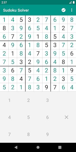 Sudoku Solver 3.2-25 screenshots 2