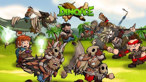 Code Triche DinoAge: Stratégie de cro-magnons et dinosaures ! APK MOD (Astuce)width=