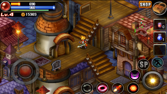 Mystic Guardian: Old School Action RPG for Free Screenshot