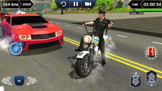 Police Bike Racing Free 2.0 screenshots 2