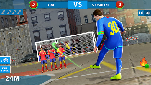Street Soccer Games: Offline Mini Football Games 3.0 Screenshots 2