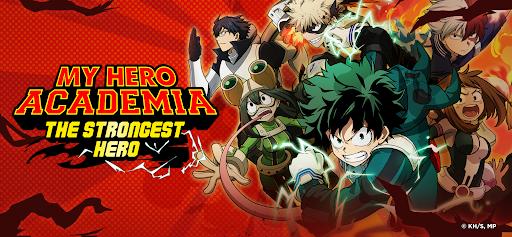 My Hero Academia: The Strongest Hero Anime RPG Apkfinish screenshots 1
