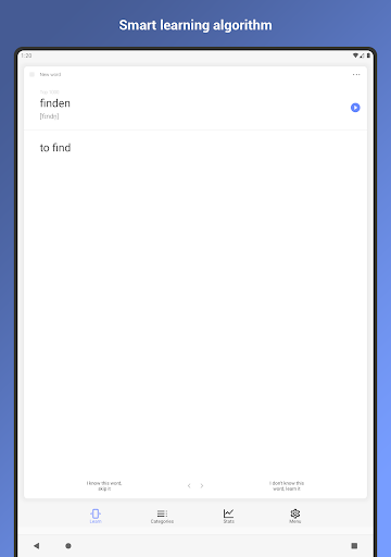 German Words. Flash Cards. Vocabulary Builder android2mod screenshots 12
