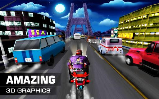 Moto Traffic Rider 3D modavailable screenshots 4