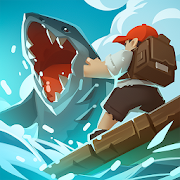 Epic Raft: Fighting Zombie Shark Survival Games