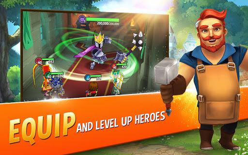 Shop Titans: Epic Idle Crafter, Build & Trade RPG apktram screenshots 4