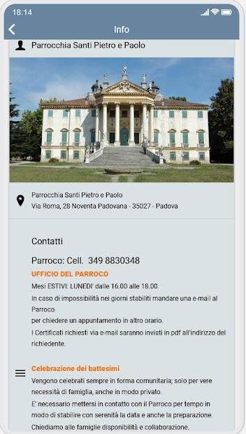 Parrocchia di Noventa Padovana screenshot 1