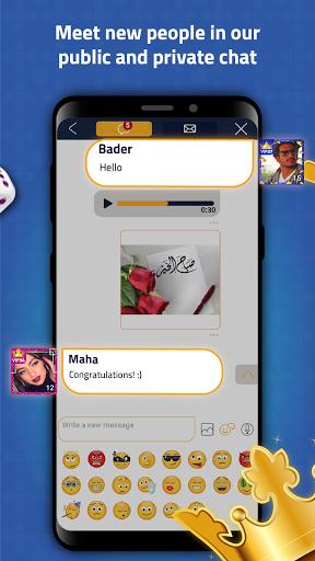 VIP Jalsat: Tarneeb, Trix & Domino Online 3.7.2.61 screenshots 18