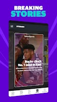 screenshot of Yahoo Sports: Get live sports news & scores