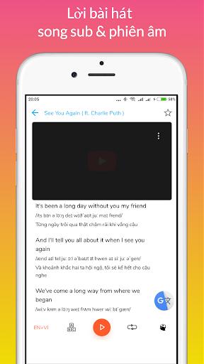 Learn English through Music modavailable screenshots 4