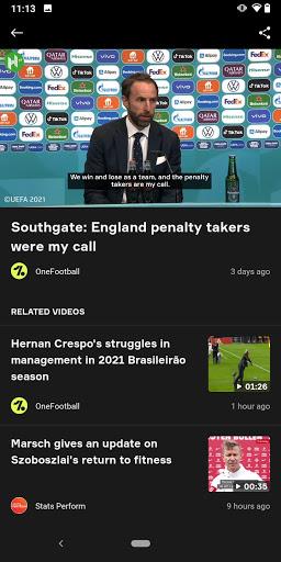 OneFootball - Soccer News, Scores & Stats  screenshots 6