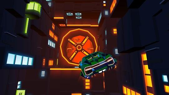 Neon Flytron: Cyberpunk Racer Mod Apk (Unlocked/No Ads) 7